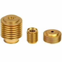 Seamless metal bellows in brass