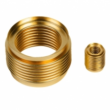 Seamless metal bellows made of brass as flexible sealing elements