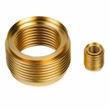 Seamless metal bellows made of brass as flexible sealing elements