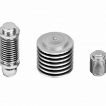 Stainless steel bellows for measuring and control technology