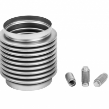 Precision bellows made of stainless steel