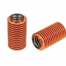 Soufflets métalliques en acier inoxydable avec un revêtement spécial