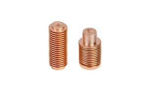 Präzisions- Faltenbälge aus Bronze als thermische Aktoren für Thermostat- Ventile