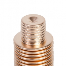 Mera Bellows Metallbalg aus Bronze mit kundenspezifischem Gewindeabschluss