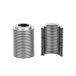 Stainless steel bellows for vacuum interrupters