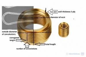 seamless metal bellows